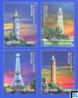 Vietnam Stamps 2013, Vietnamese Lighthouses, MNH - Vietnam