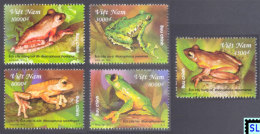 Vietnam Stamps 2014, Tree Frogs, MNH - Vietnam