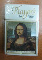 AC - PLAYER'S FILTER AUSTRALIAN HARD PACK CIGARETTES UNOPENED BOX FOR COLLECTION LEONARDO DA VINCI MONA LISA - Cigarettes - Accessoires
