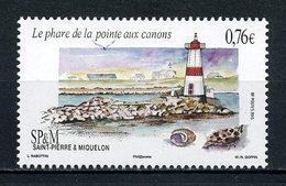 SPM Miquelon 2015 N° 1140 **  Neuf MNH Superbe Phare Pointe Aux Canons Coquillages Shells Light House Faune Marine - St.Pierre Et Miquelon