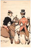 CPA - Illustrateur - Felix Jobbé Duval - Flirt - Autres Illustrateurs
