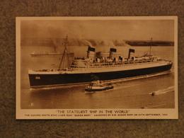 CUNARD LINE QUEEN MARY 534 - RP - Steamers