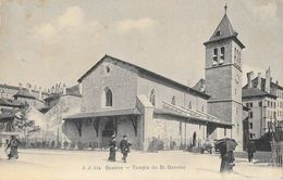 Genève - Le Temple De St Saint Gervais - Carte J.J. Animée N° 914 - GE Geneva