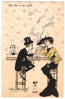 CPA - Illustrateur - Felix Jobbé Duval - Au Bar à La Mode - Autres Illustrateurs