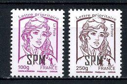 SPM Miquelon 2013  N° 1101/1102 ** Neufs MNH Superbes Série Courante Marianne De Ciappa Et Kawena - St.Pierre Et Miquelon