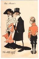 CPA - Illustrateur - Felix Jobbé Duval - Chez Maxim's - Autres Illustrateurs