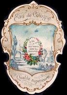 PRINT From J. STERN BERLIN - EAU  De  COLOGNE  Qualite  Superieure - Cc 1910/15 - Labels