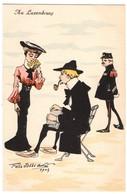 CPA - Illustrateur - Felix Jobbé Duval -Au Luxembourg - Autres Illustrateurs