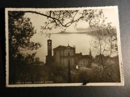 19884) BRESCIA LAGO DI GARDA GARDONE RIVIERA CHIESA VIAGGIATA 1946 - Old Paper