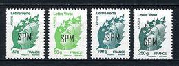 SPM Miquelon 2012  N° 1038/1041 **  Neufs MNH Superbes Marianne De Beaujard De L' Europe Lettre Verte - St.Pierre Et Miquelon
