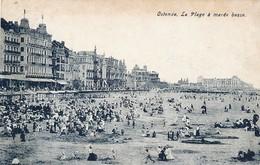 CPA - Belgique - Oostende - Ostende - La Plage à Marée Basse - Oostende