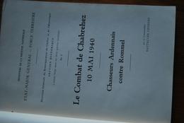 1540/Combat Chabrehez-Chasseurs Ardennais Contre ROMMEL 10 MAI 40-Vielsalm/Houffalize/Manhay/Baraque Fraiture - Sonstige