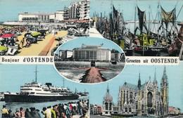CP - Belgique - Oostende - Ostende - Bonjour D'Ostende - Oostende