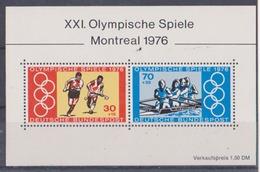 Allemagne Fédérale JO De Montreal 1976 Block  MI BF N° 12 MNH ** Superbe - Estate 1976: Montreal