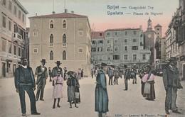 Croatie : SPALATO - SPLIT : Piazza De Signori ( Précurseur ) - Croatie