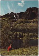 Brudesloret, Veslehorn, Hemsedal - The Bridal Veil, Veslehorn, Hemsedal Valley - (Norge - Norway) - Noorwegen