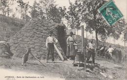 Autheuil : Hutte De Charbonniers En Forêt. (TB Animation). - France