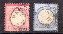 Sellos De Alemania Imperio N ºYvert 4/5 (o) Valor Catálogo 27.0€ OFERTA (OFFER) - Gebraucht
