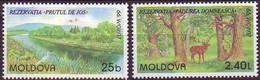 Moldova Moldavie 1999 Yvertn° 263-64 *** MNH  Cept Europa - 1999