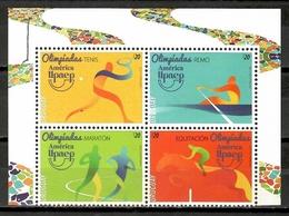 Uruguay 2016 / UPAEP Olympic Games Rio De Janeiro MNH Juegos Olímpicos Olympische Spiele / Cu10823  40-33 - Sommer 2016: Rio De Janeiro