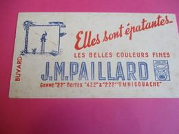 Buvard/Gouache/Les Belles Couleurs Fines / JM PAILLARD/ Omnigouache/Elles Sont èpatantes  /Vers 1945-1960   BUV346 - Stationeries (flat Articles)