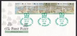 Australia 1988 The First Fleet Arrival FDC - GPO Sydney - FDC