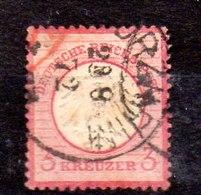 Sello De Alemania Imperio N ºYvert 9 (o) Valor Catálogo 18.0€ OFERTA (OFFER) - Gebraucht