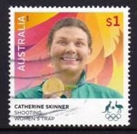 Australia 2016 Olympic Games $1 Gold Medal Skinner Used - 2010-... Elizabeth II
