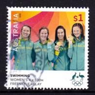 Australia 2016 Olympic Games $1 Gold Medal Swimming Relay Used - 2010-... Elizabeth II