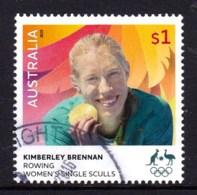 Australia 2016 Olympic Games $1 Gold Medal Rowing Used - 2010-... Elizabeth II