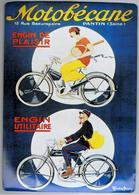 Belle REPRODUCTION Publicité Motobécane - Plaques Publicitaires
