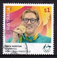 Australia 2016 Olympic Games $1 Gold Medal Swimming 400m Used - 2010-... Elizabeth II