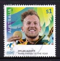Australia 2016 Paralympian $1 Alcott Used - 2010-... Elizabeth II