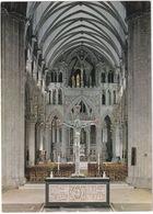 Trondheim. Interior Nidarosdomen. Koret Med Korsalteret - Interior Nidaros Cathedral  - (Norge - Norway) - Noorwegen