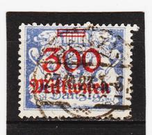AUA1073 DANZIG 1923 MICHL 175 Gestempelt SIEHE ABBILDUNG - Danzig