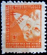 1952 Cuba Yt B15 .  Postal Tax .  Postal Tax . Oblitéré - Cuba