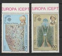 MiNr. 2631 - 2632  Türkei 1983, 5. Mai. Europa: Große Werke Des Menschlichen Geistes. - 1921-... Republik