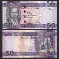 SOUTH SUDAN 50  2017 UNC! - Südsudan