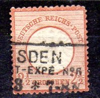 Sello De Alemania Imperio N ºYvert 18 (o) Valor Catálogo 80.0€ OFERTA (OFFER) - Gebraucht
