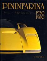 Didier Merlin . PININFARINA 1930 - 1980 . Edition Cartonnée Avec Jaquette . - Auto