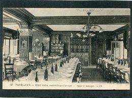 CPA - PONT AVEN - Hôtel Julia - La Salle à Manger - Pont Aven