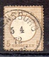 Sello De Alemania Imperio N ºYvert 19 (o) Valor Catálogo 40.0€ OFERTA (OFFER) - Gebraucht