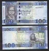 SOUTH SUDAN  100  2017 UNC! - South Sudan