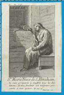 Holycard    St. Marie Niece De St. Abraham - Devotion Images