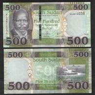 SOUTH SUDAN  500  2018 UNC - South Sudan
