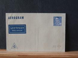 83/138  AEROGRAMME DANMARK - Entiers Postaux