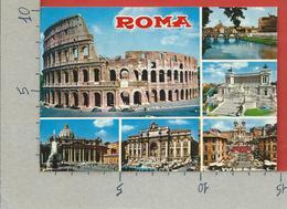 CARTOLINA VG ITALIA - ROMA - Vedutine Multivue - 10 X 15 - ANN. 1971 VATICANO - Tarjetas Panorámicas