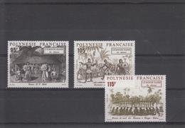 POLYNESIE  FRANCAISE  1992 PETIT LOT  TIMBRES NEUFS XX - Polynésie Française