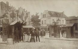 I60 - MILITARIA - Carte Photo - Entrée D'une Caserne à Identifier - Guerre 1914-18