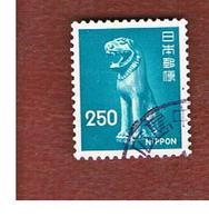 GIAPPONE  (JAPAN) - SG 1244  -   1976 GUARDIAN DOG  - USED° - 1926-89 Imperatore Hirohito (Periodo Showa)